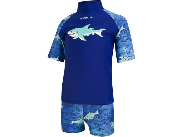 speedo Sun Protection Set Kids, shark northern